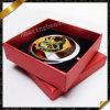 Flower Pattern Crystal Glass Mirrors Jewelry with Box (MW009)