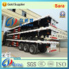 3-Axle 40ft Flatbed Container/Utility Truck Semi Trailer (LAT9380TJZG)