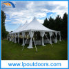 Outdoor Steel Frame White PVC Wedding Peg Pole Tent for Event