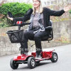 Disabled 250W 4 Wheel Electric Mobility Scooter for Elder People