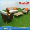 Oudoor Rope Woven+Teak Lounge Sofa