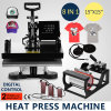 38*38 8in1 T-Shirt Heat Press Machine