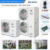 Amb Air Temp -25c Cold Place Floor House Heating+out Water 50c R407c 12kw 19kw/35kw Winter Heat Pump Evi Auto-Defrost
