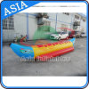 Single Row 5 Persons Inflatable Water Banana Boat for Sea/Lake Sport Game