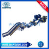 Pnss Rubber Waste Tire Recycling Double Shaft Shredder Tdf Production Line