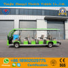 New Design 17 Seats Electric Sightseeing Bus for Airport Use