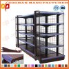 Supermarket Wall Wire Shelves Storage Store Gondola Display Shelving (Zhs388)