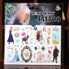 Wholesale Frozen Tattoo Sticker for Frozen Souvenirs