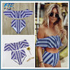 Sexy Bikini Set High Waist Swimwear Women Striped Biquini