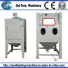 Manual Dry Sandblasting Sandblaster Stone Carving Machine
