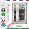 Security Stainless Steel Door with One and Half Leaf in 304 Ss (BN-SS106)