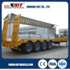Double Axle Tandem Axle Lowboy Semi Trailer