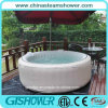 Luxury Round Hydromassage Hot Tub (pH050010)