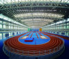 Prefabricated Lightweight Steel Space Grid Frame Structure Gymnasium Roof