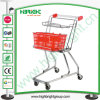 Supermarket Two Tiers Basket Shopping Cart