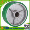 Heavy Duty Roller Bearing Polyurethane Cast Iron Wheel