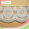 4cm Guipure Lace Chemical Fancy Border Embroidered Lace