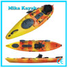 Fishing Sit on Top Sea Kayak Boats for Sale with Rudder System