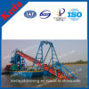 High Efficiency Bucket Chain Gold Dredger for Sale