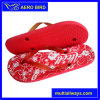 Simple Flower Design Print Lady Leisure Sandal