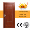 Best Selling PVC Wood Plastic Composite Door (SC-P182)