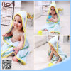 Wholesale 100% Cotton Plain Color Hooded Poncho Baby Towel