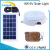 6V8w 18PCS-2835-LED Waterproof&Light Control Solar Lamp Remote Control SL1-8W