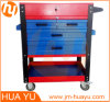 Movable Tool Box (Gas-spring Top Cover, Square Trays, Small Compartment)