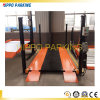 Four Post Hydraulic Simple Auto Car Parking Garage Lift with 3600kg Loading Capacity