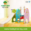 2017 Classcial Indoor Mini Playground Equipment with Slide Swing (HBS17027A)
