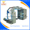 High Speed Flexographic Plastic BOPP Printing Machine