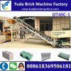 Qt40c-1 Manual Concrete Cement Block Machine/Vibrate Block Making Machine