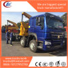 HOWO Rhd 20FT Container Sidelifter Container Side Load Crane Truck