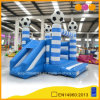 Football Theme Inflatable Combo Bouncer with Slide (AQ02107-3)