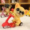 Skateboard Dog Polyresin Crafts Gifts for Home Decoration
