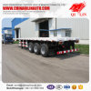 Heavy Duty Flatbed Semi Trailers with Mechanical Suspension