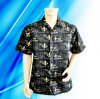 100% Polyester Man′s Sublimation Print Camp Shirt
