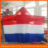 Printed National Flag Body Cape with Hat