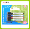 4PCS Mini Whiteboard Marker Pen with Bush and Magnetic, Dry Erase Marker Pen