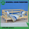 Solid Pine Wood Bedroom Furniture General Use Sofa Bed (W-B-5035)