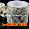 Rhinestone Cup Chain Jewelry Rhinestone Trimming Jewelry Chain (TCS-2mm/ss6)