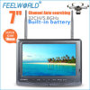 Feelworld 1.8 Cm Thickness 7 Inch Fpv Monitor Built in Dual Receiver and Battery for Airplane