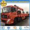 Dongfeng 8X4 Heavy Duty Truck Mounted with 16 Tons Telescopic Arm Crane