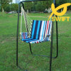 Swift Patio Hanging Swing with Comfortable Armrest