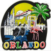 Soft PVC Souvenir Magnets for Orlando