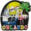 Soft PVC Souvenir Magnets for Orlando