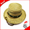 Hollow Straw Natural Straw Hat Promotional Fishing Hat