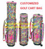 Travel Golf Bag Golf Club Bag with Embroidery Design