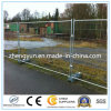 Galvanized Metal Frame Material Temporary Fence with Brace
