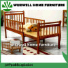 Solid Pine Wood Extendable Todder Bed
